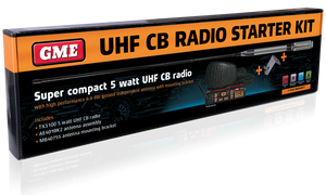 GME - TX3100VP UHF Two Way CB Radio Starter Kit