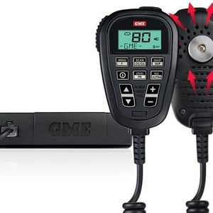 GME - GME TX3350UVP - UHF CB RADIO VALUE PACK WITH SOUNDPATH LCD