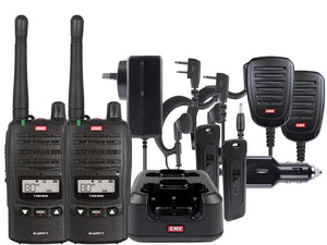 GME - TX6155TP 5 Watt IP67 Handheld Comm-Kit