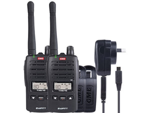 GME - TX675TP 2 watt UHF CB handheld radio, twin pack