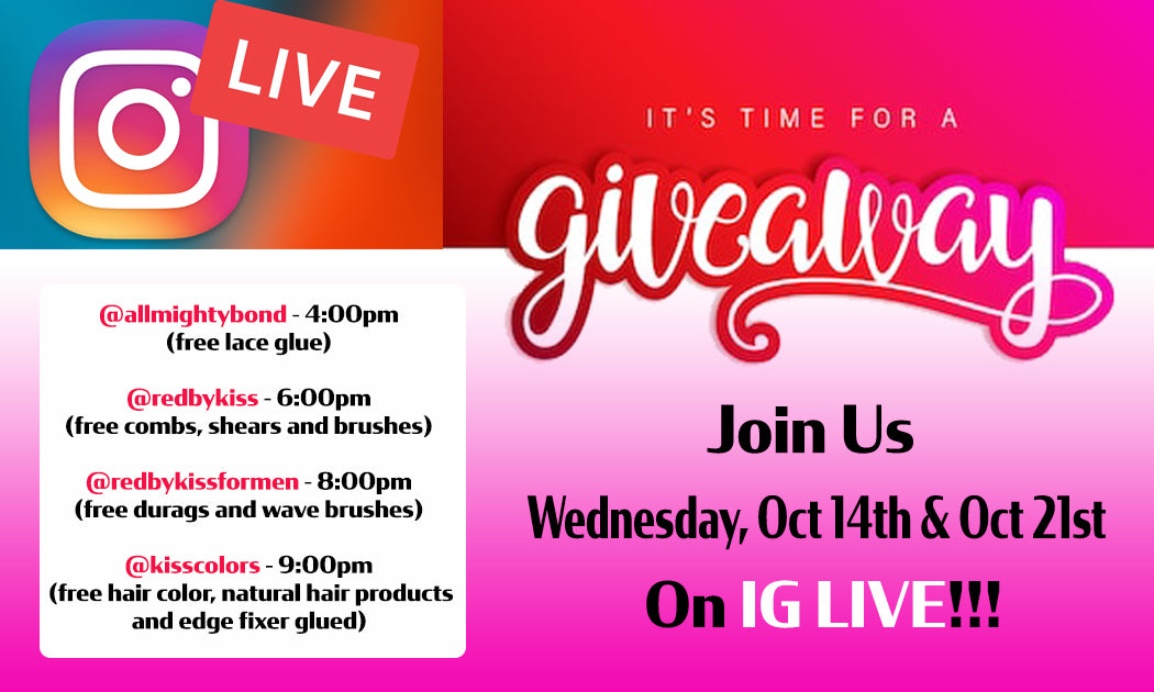 IG LIVE GIVEAWAYS - FREE PRODUCTS