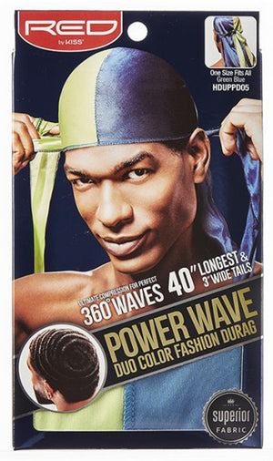 Power Wave Duo Color Fashion Durag