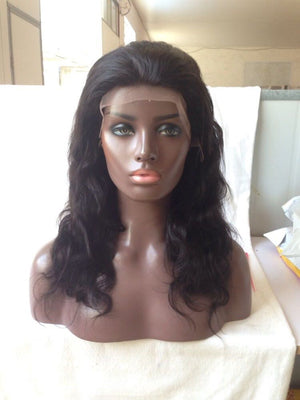 Full Lace Wig 100% Virgin Hair