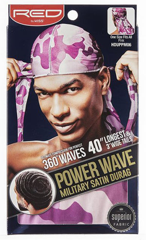 Power Wave Camo Satin Durag