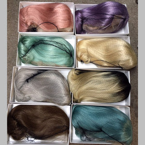 ColorFULL Lace Wigs 9A - 12in Only