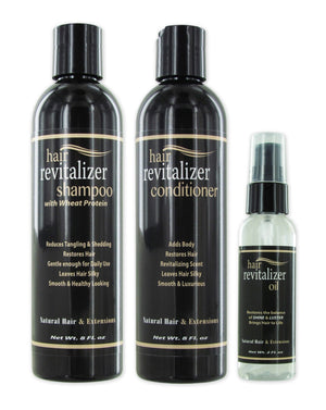 Weave Revitalizer Kit / Serum 2oz - Shampoo 8oz - Conditioner 8oz