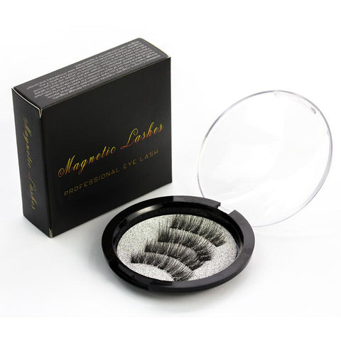 NEW FULL COVERAGE Triple Magnetic 3D/6D Eyelash No Glue Extensions