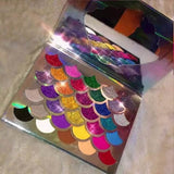 32 Color Mermaid Glitter Pressed Eyeshadow Makeup Palette