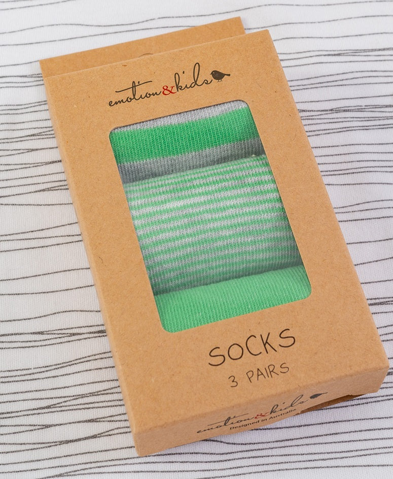 Green & Grey Sock Pack