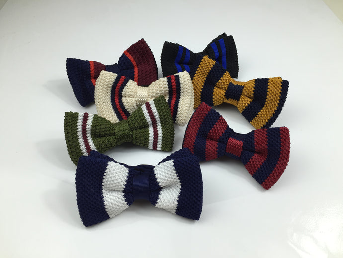 The Emmet - Premium Knitted Bow Tie