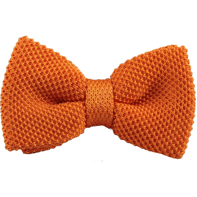 The Gerald - Solid Knitted Bow Tie