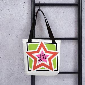 Lit Lady on the Go Tote Bag