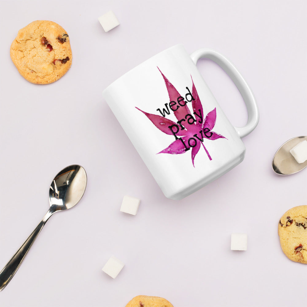 Weed Pray Love Wake & Bake Cup