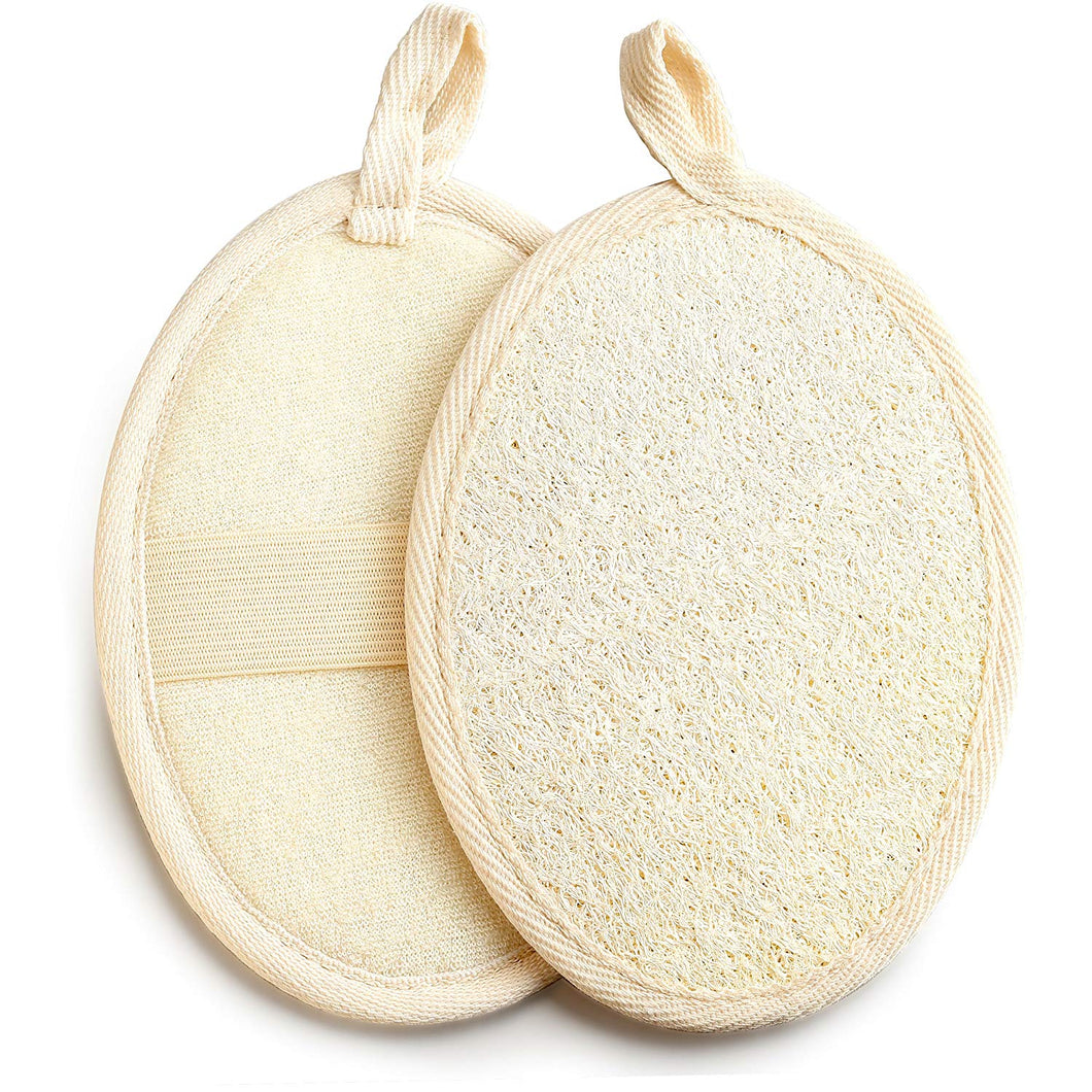 Raw Organic Natural Exfoliating Loofah Pad - DerekProduct