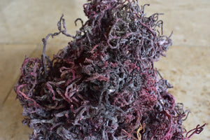 St.Lucia Purple Sea Moss - 100% WildCrafted Deep Ocean - High Mineral Content - DerekProduct