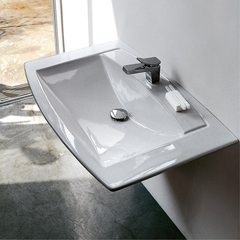 Laufen Mylife Washbasin & Shroud, 950x600mm - Interio International
