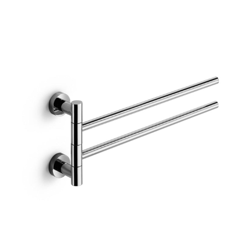 Baketo Swivel Double Towel Rail - Interio International