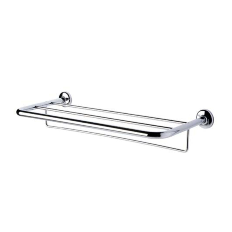 Hotel Towel Shelf with Rail