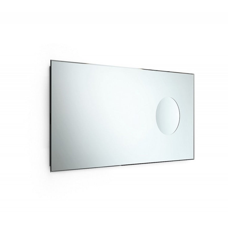 SPECI Italian Mirror with Magnifying Insert, 440x900mm