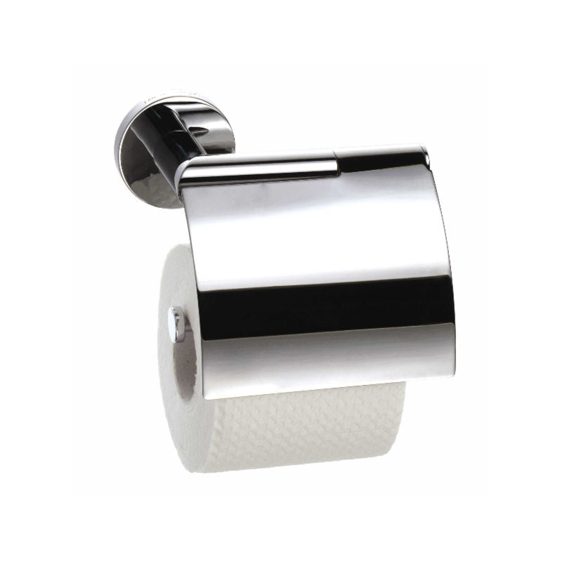Geesa Circles Toilet Roll Holder with Cover - Damaged Packaging - Interio International