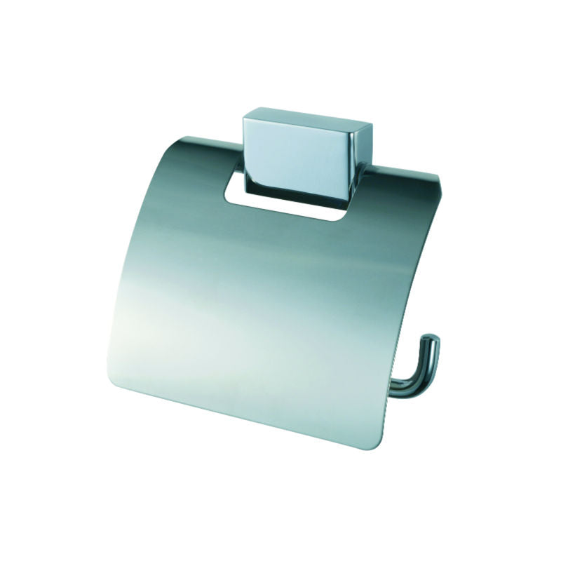 Geesa Bloq Toiletroll Holder with Cover - Interio International