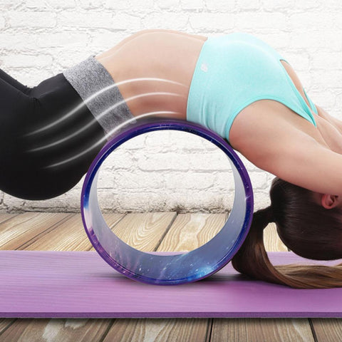 Deepen your yoga poses with the Yoga Wheel