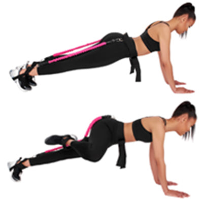 Multi Gym Glute Exercises Resistance Bands