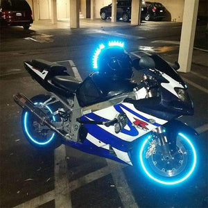 Reflective Glow-Tape for Vehicles & Bikes