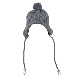 TOBOGGAN HAT GRAY – furry peoples e3163c23ec19