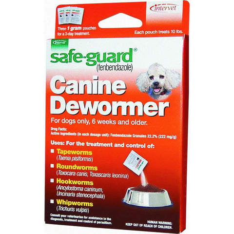 8in1 Safe-Guard Canine Dewormer