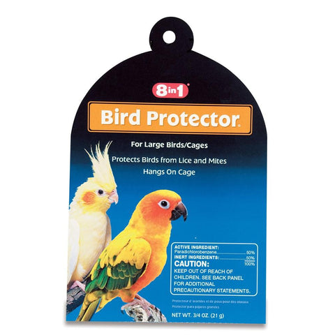 8in1 Bird Protector LARGE BIRDS 0.5 OZ bird grooming, bird health, l, spray Pets Go Here, petsgohere