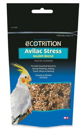 eCOTRiTiON Avilac Stress Health Blend for Cockatiels 7 OZ cockatiel, food, treats Pets Go Here, petsgohere