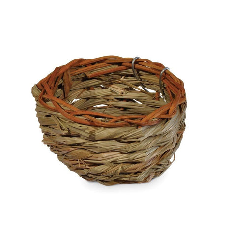 Prevue Pet Products Canary Bamboo Nest bird nest Pets Go Here, petsgohere