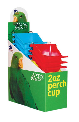 Prevue Pet Products Perch Cup 6 oz, bird, bird feeders, ds, perch Pets Go Here, petsgohere