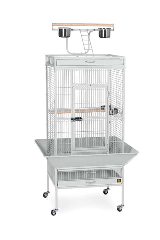 Prevue Pet Products Wrought Iron Select Bird Cages bird, bird cage, black, cages and accessories, chalk white, pewter Pets Go Here, petsgohere