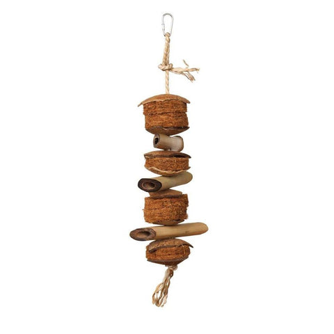 Prevue Pet Products Naturals Coco and Bamboo Bird Toy bird toys Pets Go Here, petsgohere