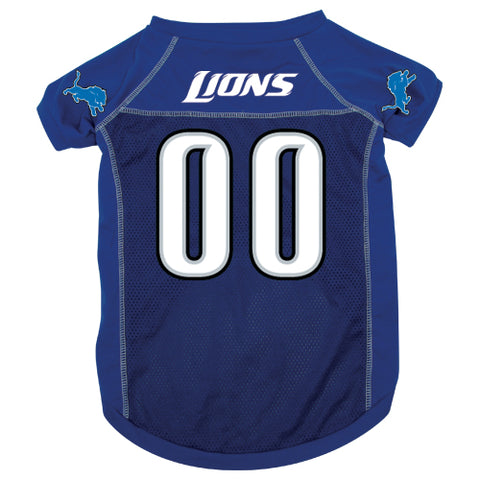 Detroit Lions Dog Jersey-DOG-Hunter-X-LARGE-Pets Go Here