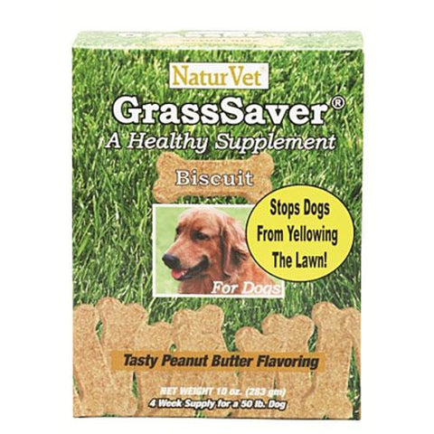 NaturVet GrassSaver Dog Biscuits with Cranberry 11.1 oz