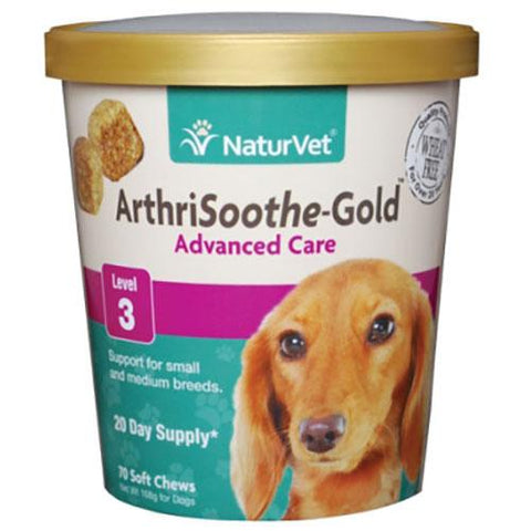 NaturVet Arthrisoothe-GOLD Joint Care for Dogs