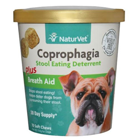 NaturVet Coprophagia Stool Eating Deterrent for Dogs