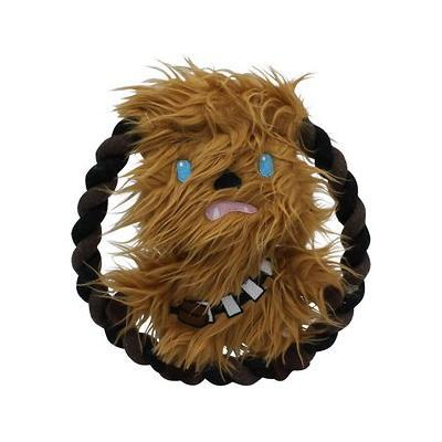 Star Wars Chewbacca Plush Rope Frisbee Dog Toy
