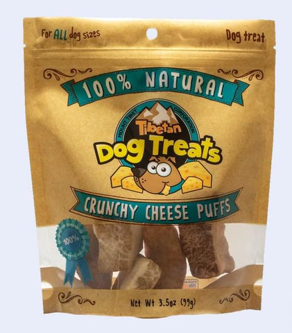 Mount Tibet Crunchy Cheese Puffs Dog Treats
