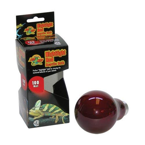 Zoo Med Reptile Bulb Nightlght Red 40w