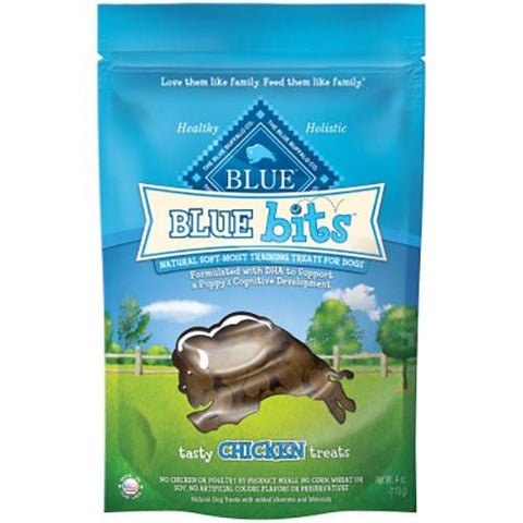 Blue Buffalo Bits Training Treats For Dogs Moist Chicken Recipe