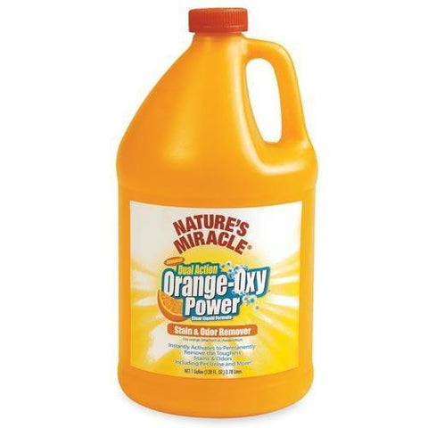 Nature's Miracle OrangeOxyDog Stain & Odor Remover -1Gallon