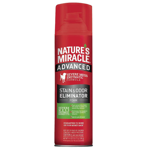 Nature's Miracle Advanced Stain&Odor Remover Foam