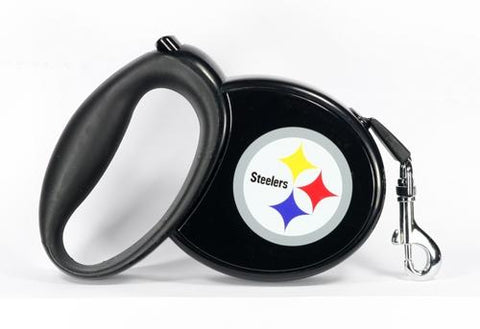 NFL Steelers Retractable Leash