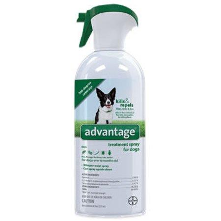 Advantage Flea and Tick Treatment Spray for Dogs