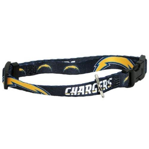 NFL San Diego Chargers Dog Collar Large L
