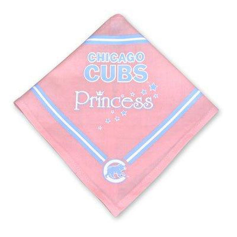 Chicago Cubs PINK Dog Bandana-DOG-Sporty K9-SMALL-Pets Go Here